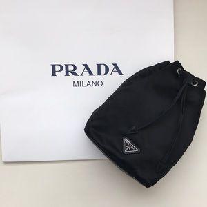 NWT Prada drawstring pouch